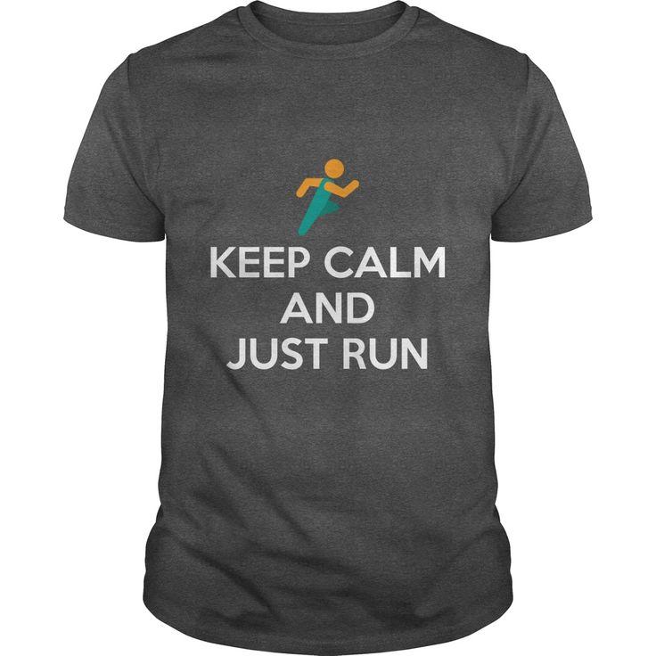 Keep Calm and Just Run Men's T-shirt https://www.sunfrog.com/Keep-Calm-and-Just-Run-160947181-Dark-Grey-Guys.html?68704