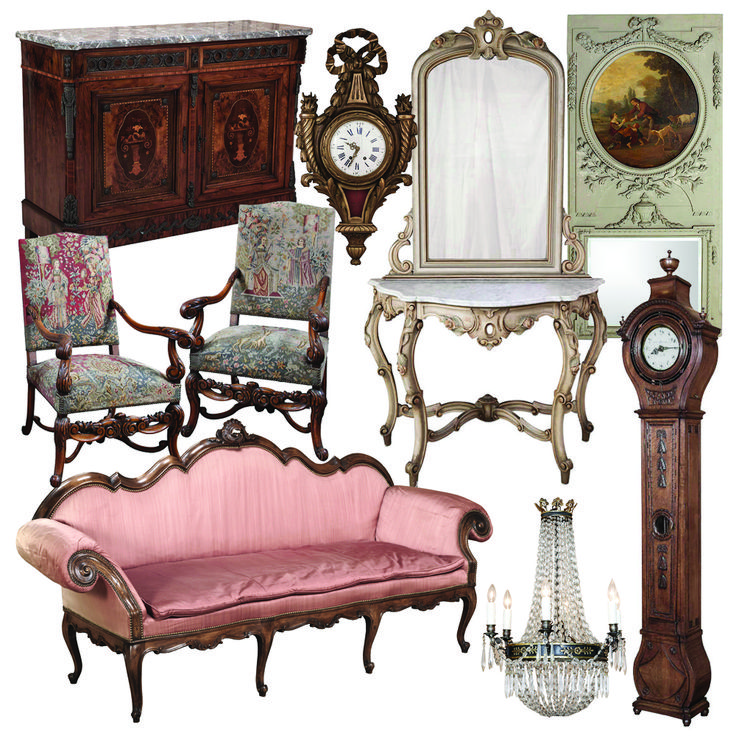 Antiques,  Antique Furniture,  French Antiques ~ Antique Store Online ~ Belle Brocante ~ www.inessa.com