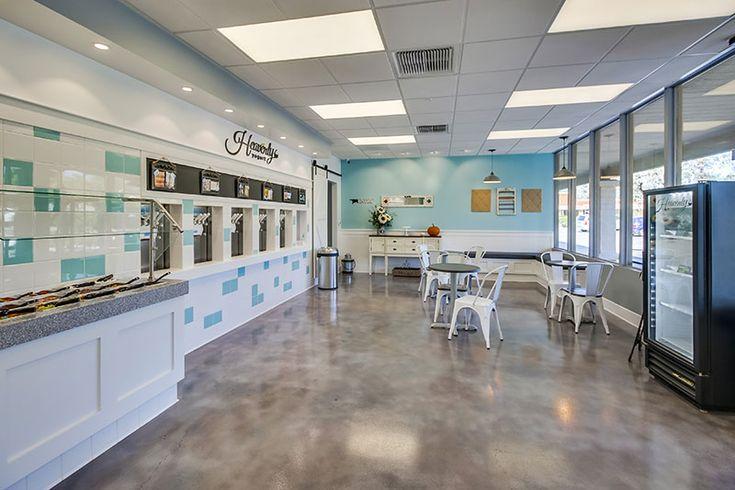 Heavenly Frozen Yogurt Shop Design