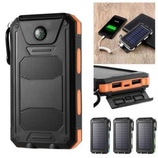 300000mah Solar Power Bank Dual Usb External Battery Charger For Smartphone Mt Portable Universal China