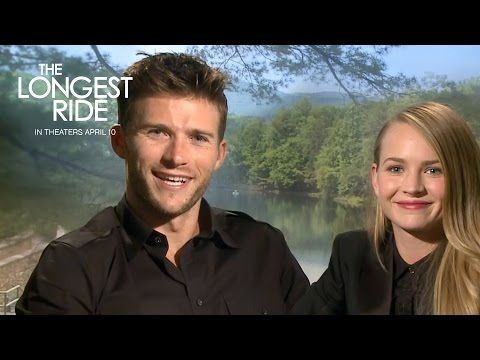 Scott Eastwood and Britt Robertson are the perfect on-screen couple. Watch them interview each other!   The Longest Ride