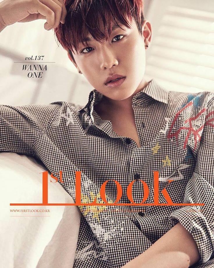 Wanna-One/Wanna One, 1st-Look, Woojin