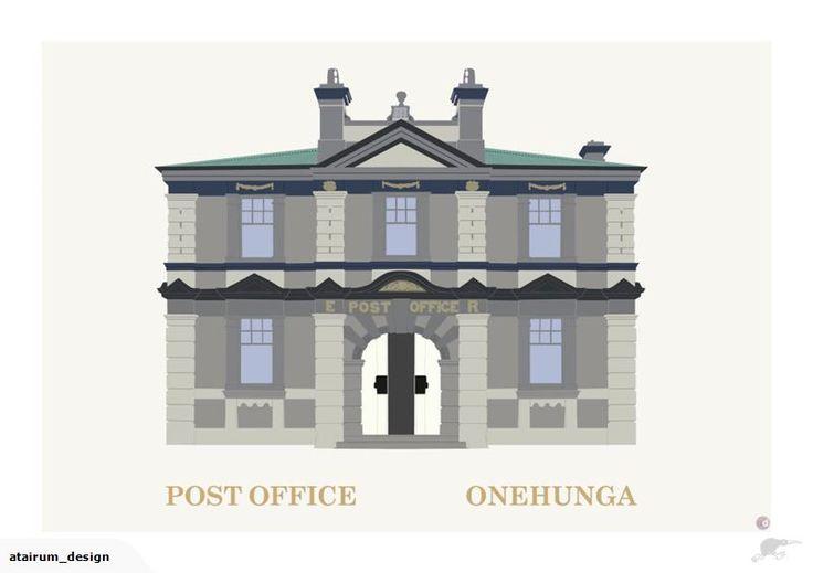 Framed A2 Digital Print - Onehunga Post Office | Trade Me