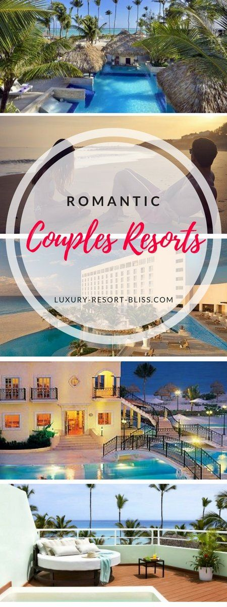 The world's most romantic couples resorts. These romantic, kid free, honeymoon & wedding resorts, or places to cherish time with your partner. Locations in the Caribbean, Asia, Europe, Mexico, South Pacific and around the world. #honeymoon