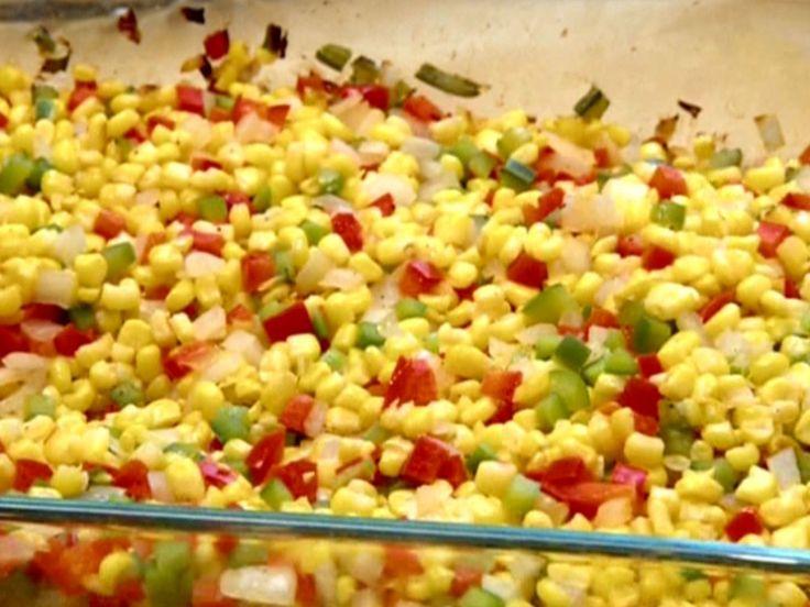Oven Roasted Corn recipe from Robert Irvine via Food Network