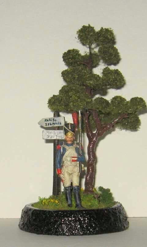 Diorama soldat napoleonian 2.