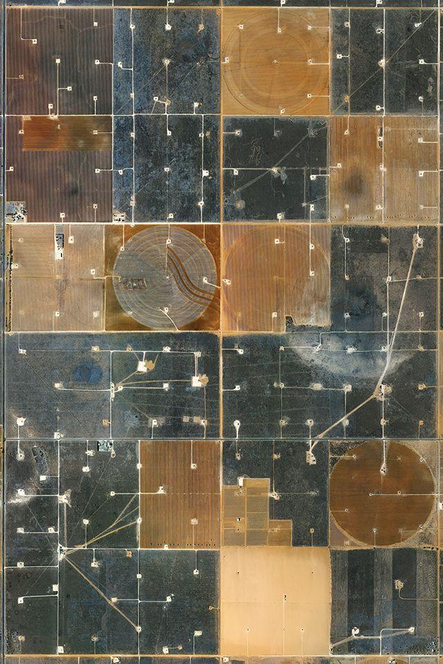 amazing landscape aerial view