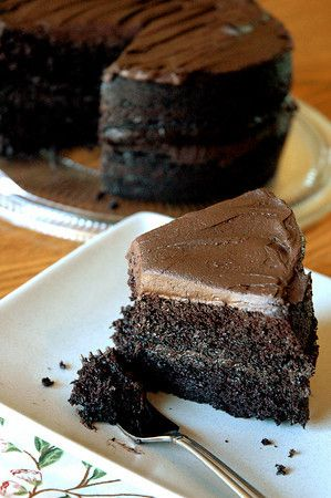 Hershey's Perfect Chocolate Cake: I have it on good authority that this is the best chocolate cake recipe in the world...