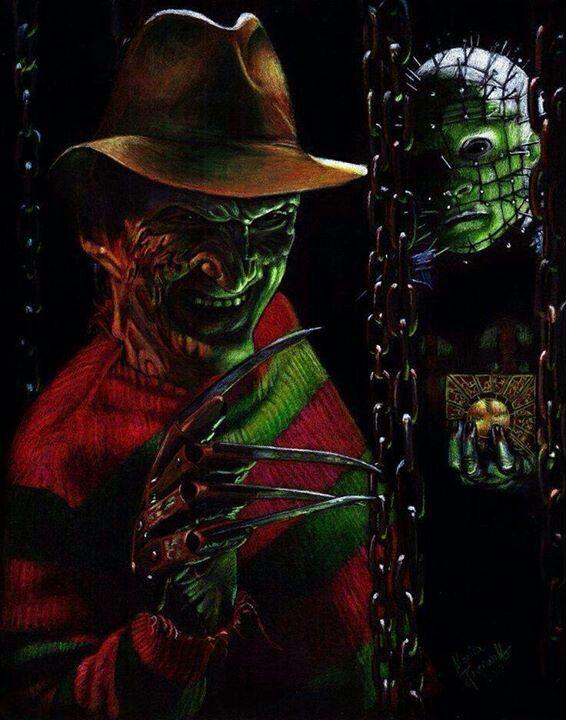 Freddy Krueger & Pinhead