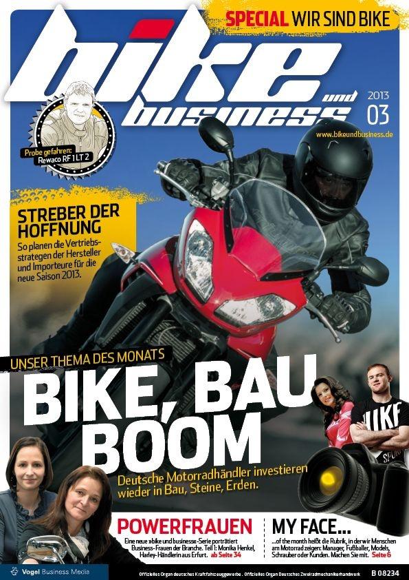 The new bike und business MY 2013.