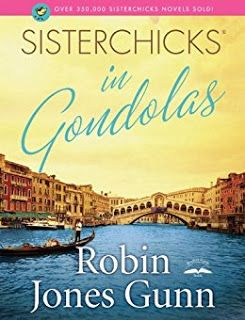 Wandering Wednesday - Patricia Beal visits Venice, Italy, and shares about Sisterchicks in Gondolas by Robyn Jones Gunn