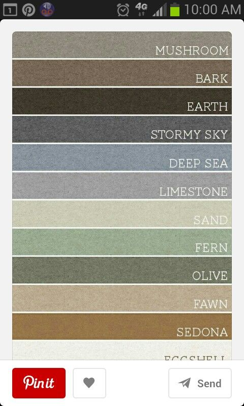 Neutral paint color scheme