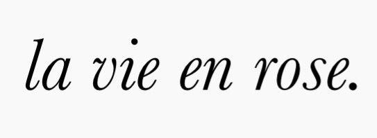 la vie und Rose. (Nacken) –  – #tattooideen