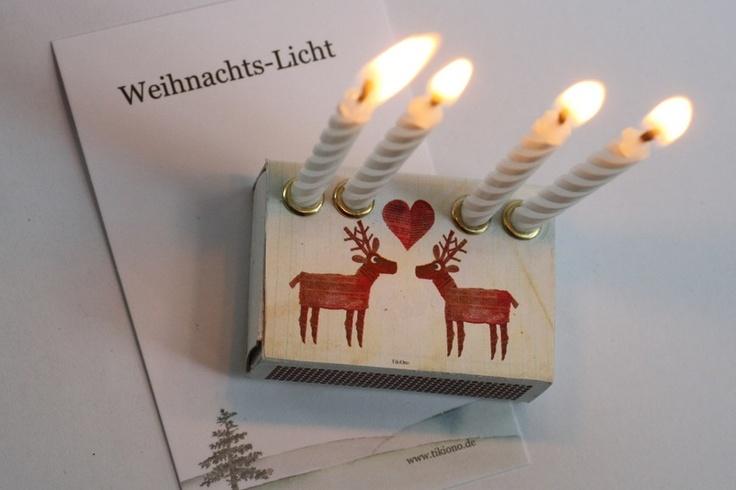 Mini - Adventskranz - Weihnachten