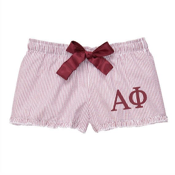 Alpha Phi Boxers alpha phi sorority by SororityLettersShop on Etsy
