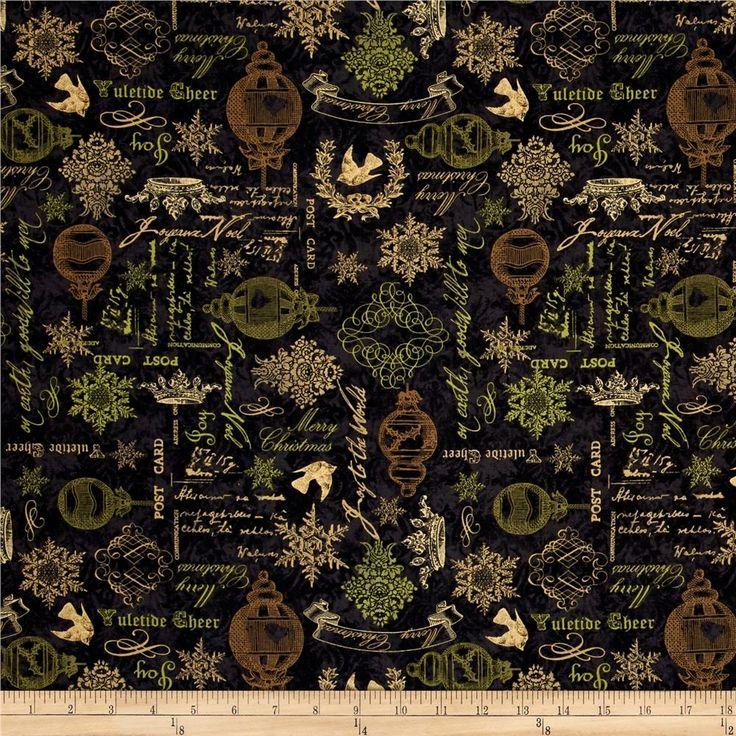 171 best Christmas Fabric Ideas images on Pinterest | Christmas ...
