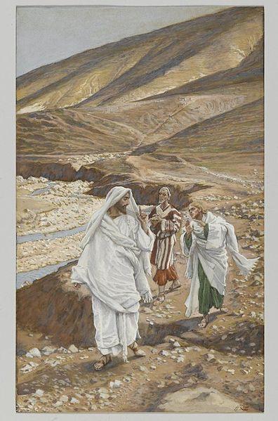 The Calling of Saint John and Saint Andrew (Vocation de Saint Jean et de Saint André) by James Tissot, 1836-1902. Brooklyn Museum