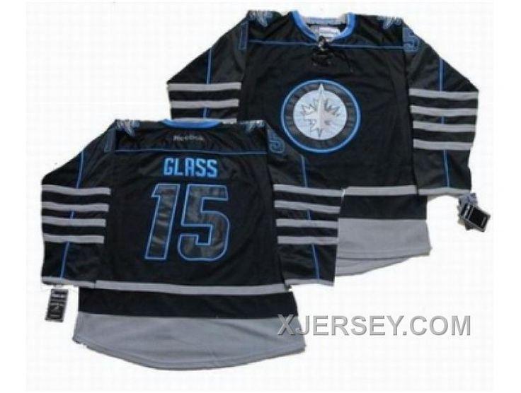 http://www.xjersey.com/new-nhl-jets-15-glass-black.html NEW NHL JETS #15 GLASS BLACK Only $50.00 , Free Shipping!