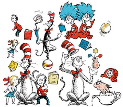 FUN FUN FUN = This site has just about every Dr. Seuss book on video!