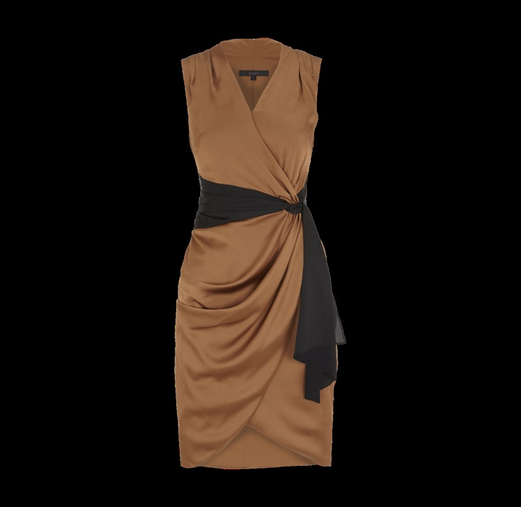 COAST Kleid aus schimmerndem Satin -