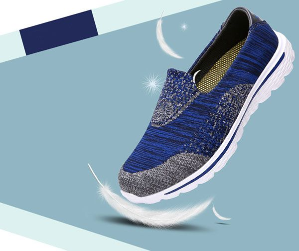US Size 5-11 Women Casual Outdoor Slip On Sport Shoes
