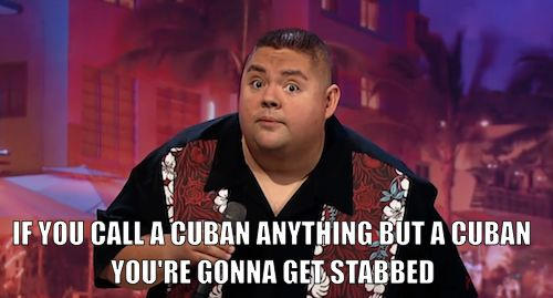 TRUTH!! I'm not Mexican, I'm not Puerto Rican... I AM CUBANA BABY