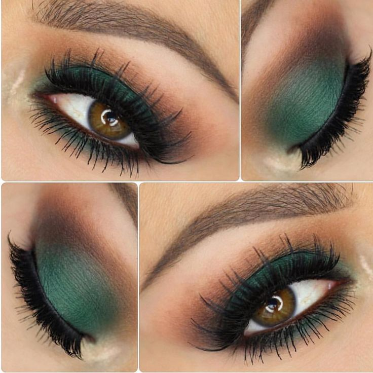 The Grass is always greener  @jennivae used Morphe shadows for this Forrest green makeup look that we can't wait to try!! Follow our #morphegirl