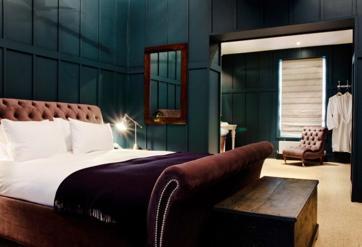 Feather & Black: Number Thirty Eight hotel in Bristol with a decadent Feather & Black Henrietta Bed.