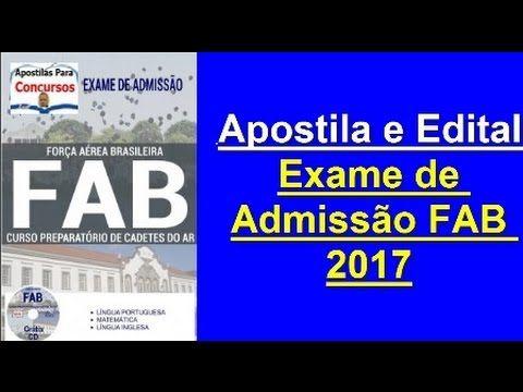 Apostila Exclusiva: Curso Preparatório Cadetes do Ar: Concurso FAB 2017 | Apostilas Para Concursos