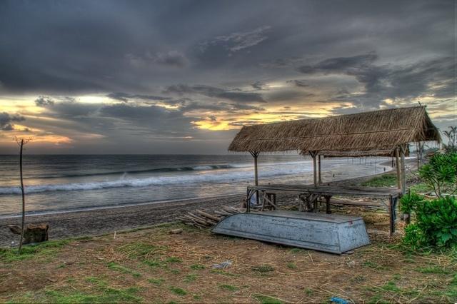 Sunset, Batubelig Beach by Rev 555, via Flickr