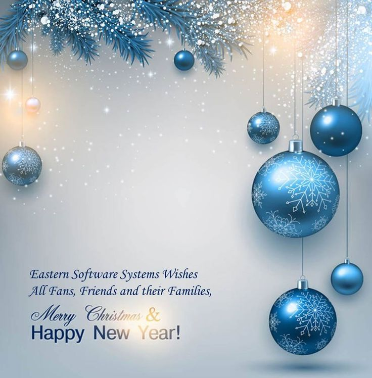 Eastern Software Systems wishes All fans, friends and their families,Merry christmas & Happy new year!
