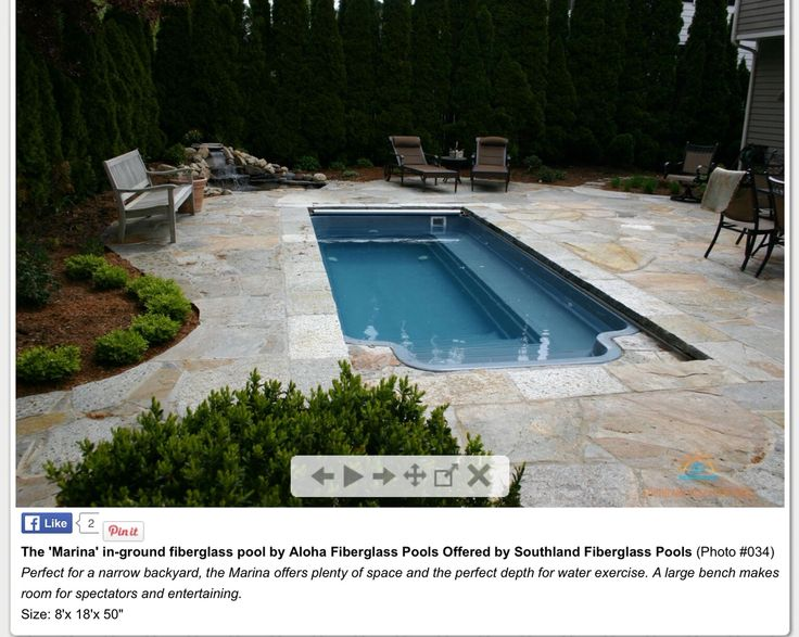 Small Inground Pools Ideas, Small Inground Pools Are The Best Options When  You Have Limited Space And Also Limited Budget. With The Small Inground Pool,  ...