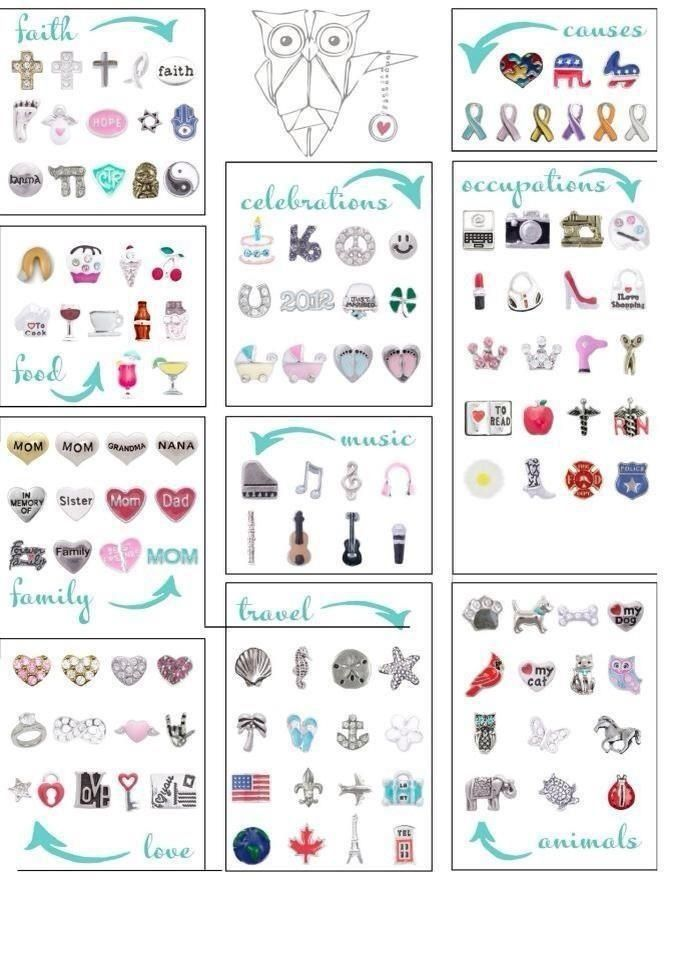 charms like origami owl 28 images floating charms for