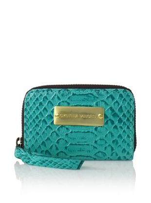 Cynthia Vincent Women's Coin Pouch, Turquoise