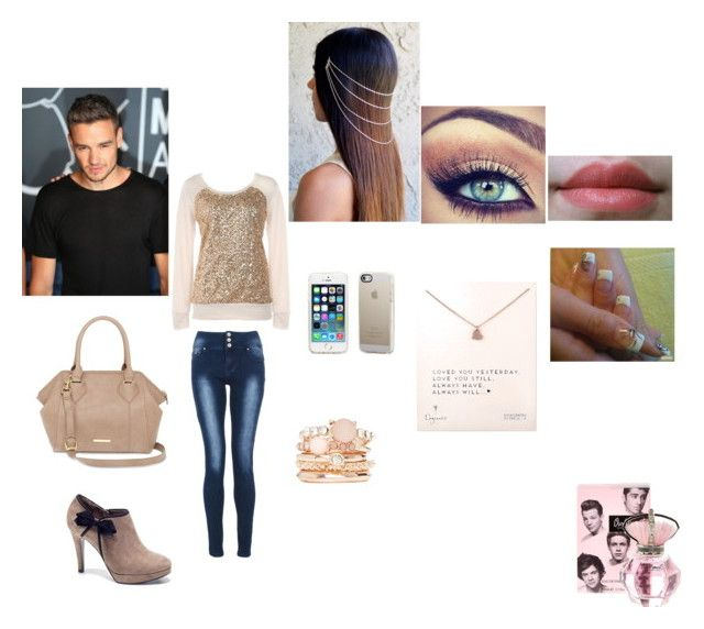 out with liam by irissalmeron on Polyvore featuring polyvore, fashion, style, Quiz, Liz Claiborne, Dogeared, 2b bebe, River Island, Manfield and Payne