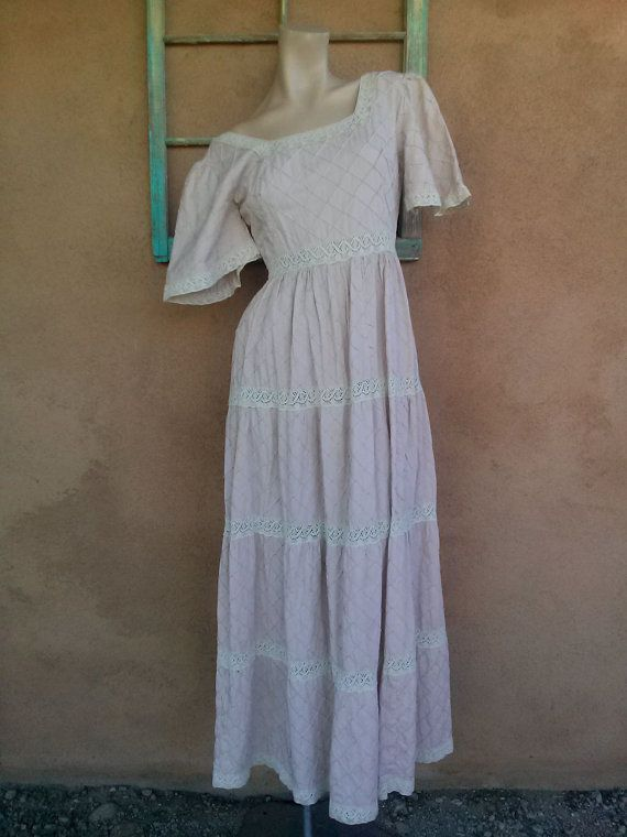 Check out this item in my Etsy shop https://www.etsy.com/listing/162303907/vintage-1960s-mexican-pintuck-dress-pink