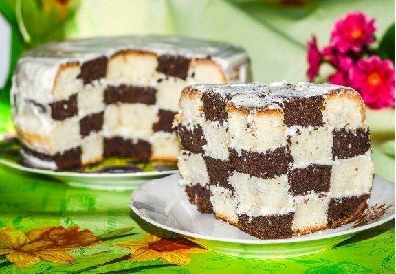 Chess Cake multivarka.
