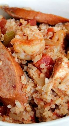 Slow Cooker Cajun Jambalaya recipe