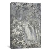 Found it at Wayfair - 'A Waterfall in a Wooded Landscape 1795' by Joseph William Turner Painting Print on Canvas