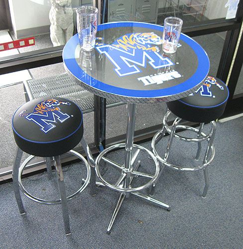 We Love This Memphis Tigers Bar Table And These Bar Stools
