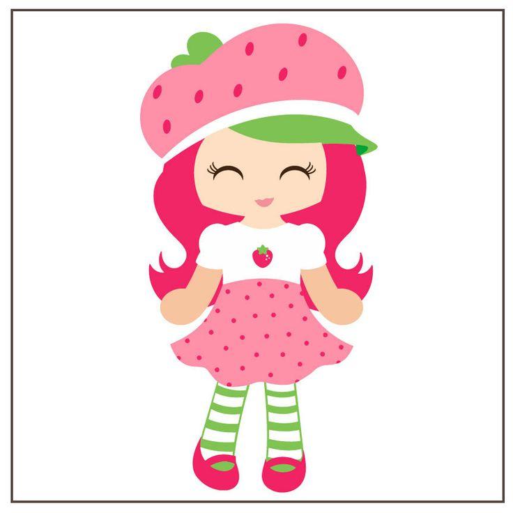 strawberry shortcake svg svg cut files pinterest