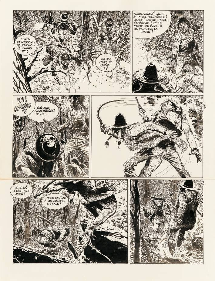 Comanche - Les shériffs by Hermann, Greg - Comic Strip