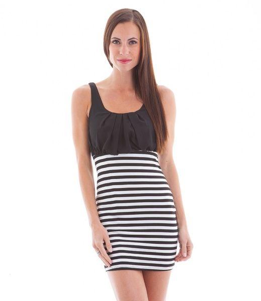 Sexy stripete kjole