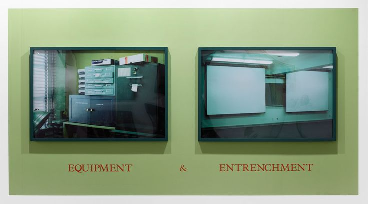 Louise Lawler - Equipment & Entrenchment