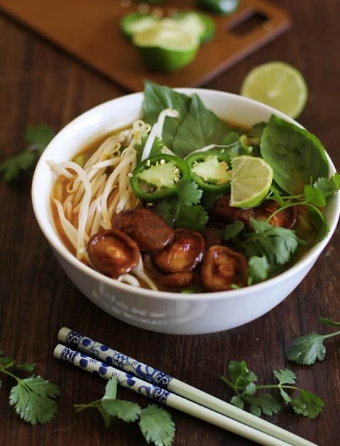 30 Soups You Can Make in 30 Minutes or Less. VEGETARIAN PHO.