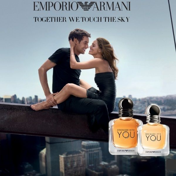 Emporio Armani Stronger With You & Emporio Armani Because It's You by Giorgio Armani (2017) #beautynews #beauty2017 #beautyreview #perfume #perfume2017 #perfumenews #olfactive #fragrance #fragrance2017