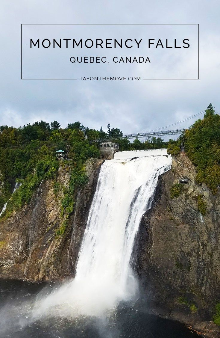 Things to do in Quebec City, Quebec, Canada : Montmorency Falls