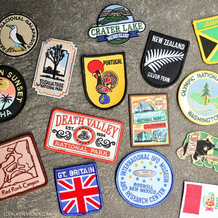 Travel Patches (15 Wonderful Ways to Keep Track of Your Travels). Patches  This is a great way to grab a keepsake and showcase it on your favorite travel backpack or bag. Sometimes if we don't have time to souvenir shop or don't find a patch we like in the country, we cheat and get these flag patches. We've been collecting them for a few years, but we still haven't decided which bag to attach them to. It's so hard to commit!