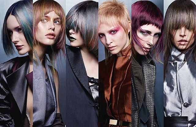 Goldwell Color Zoom IN•FLUX @goldwellkmsacademy @goldwell_taiwan @theopenhair #fashion #trends #heroic #mystical