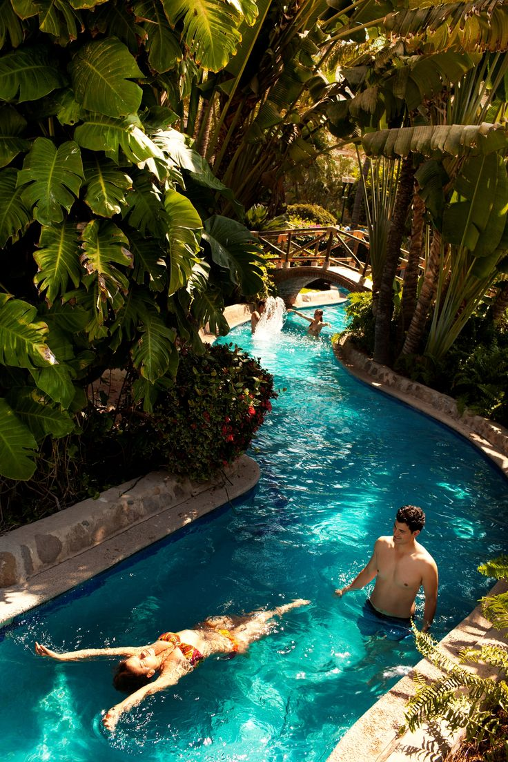 Here is our lazy river at the Velas Vallarta Resort that i work at. I love this resort!